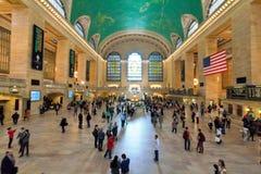 Грандиозная центральная станция главный Hall, Нью-Йорк Стоковая Фотография
