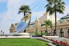Грандиозное казино в Монте-Карло, Монако Стоковые Фото