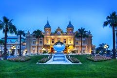 Грандиозное казино Монте-Карло Стоковая Фотография