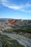 грандиозное каньона цветастое Стоковые Изображения