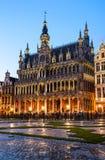 Грандиозное место, Брюссель, Бельгия Стоковая Фотография RF