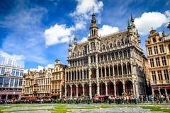 Грандиозное место, Брюссель, Бельгия Стоковые Фото