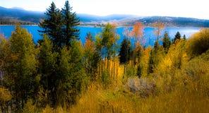 Грандиозное озеро Стоковые Изображения RF