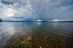 грандиозное teton национального парка Стоковое Изображение