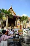 Грандиозные дворец и висок изумрудного Будды Стоковое Изображение