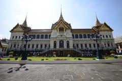 Грандиозные дворец и висок изумрудного Будды Стоковое Фото