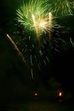 Грандиозные фейерверки Стоковая Фотография