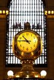 Грандиозные часы центрального стержня, Нью-Йорк Стоковые Изображения