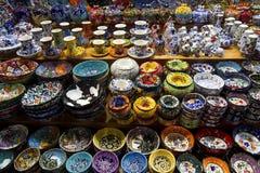 Грандиозный базар в Стамбуле Стоковые Фотографии RF