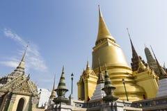 Грандиозный висок Будды дворца и изумруда - Бангкок Стоковая Фотография