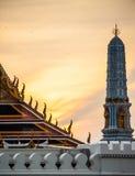 Грандиозный дворец - Бангкок Стоковые Изображения