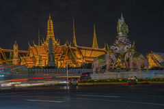 Грандиозный дворец Бангкок Стоковая Фотография RF