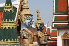 Грандиозный дворец Бангкок Стоковые Фото