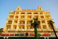 Грандиозный дворец гостиницы в OPatija стоковое изображение rf
