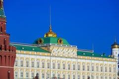 Грандиозный дворец Кремля, Москва, Россия Стоковые Фотографии RF