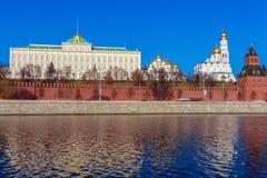 Грандиозный дворец Кремля, Москва, Россия Стоковое Изображение