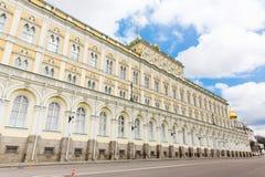Грандиозный дворец Кремля, Москва, Россия Стоковые Фото