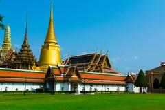 Грандиозный дворец на солнечном дне, Бангкок, Таиланд Грандиозное Palac Стоковая Фотография RF