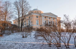 Грандиозный дворец Павловска Стоковое Изображение