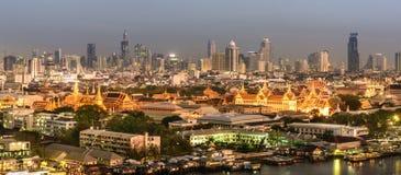 Грандиозный дворец Таиланда Стоковое Изображение