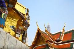 грандиозный дворец Таиланд Стоковая Фотография
