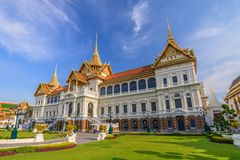 грандиозный дворец Таиланд Стоковое Изображение