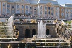 грандиозный дворец Стоковые Фотографии RF