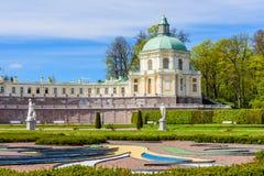 Грандиозный дворец (Menshikov) Стоковые Изображения RF