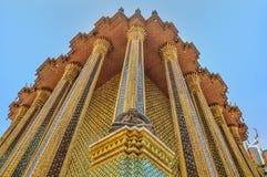 Грандиозный дворец, Wat Phra Kaew, Бангкок, Таиланд стоковая фотография