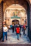 Грандиозный вход базара стоковые фотографии rf