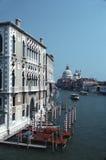 Грандиозный канал, вертикальный взгляд, Венеция, Том Wurl стоковое фото