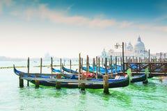 Грандиозный канал в Венеции, Италии Стоковые Фото