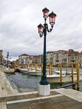 Грандиозный канал в Венеции, Италия, Стоковые Изображения RF