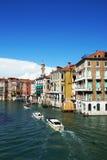 Грандиозный канал в Венеции, Стоковое Изображение