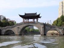 Грандиозный канал от Пекина к Ханчжоу Стоковое фото RF