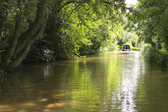 Грандиозный канал соединения, Лестершир Стоковые Изображения
