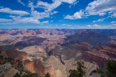 Грандиозный каньон в Аризоне США Стоковое Изображение RF
