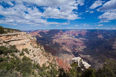 Грандиозный каньон в Аризоне США Стоковые Изображения RF