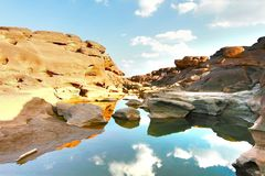 Грандиозный каньон в Таиланде Стоковая Фотография RF