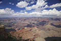 Грандиозный каньон от южной оправы Стоковая Фотография RF