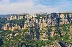 Грандиозный каньон du Verdon Стоковые Изображения RF