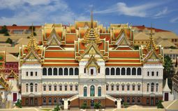 грандиозный модельный дворец Стоковое фото RF
