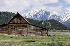 Грандиозный национальный парк Teton, Jackson Hole, Вайоминг Стоковые Изображения