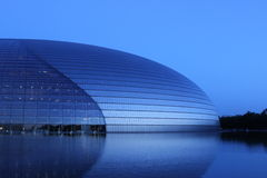 грандиозный национальный театр стоковое фото