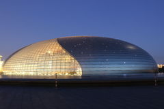 грандиозный национальный театр стоковая фотография