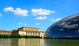грандиозный национальный театр Стоковая Фотография RF