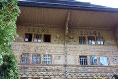 Грандиозный дом Chale Balthus стоковые фото