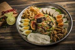 Грандиозный пряный салат Стоковые Изображения RF