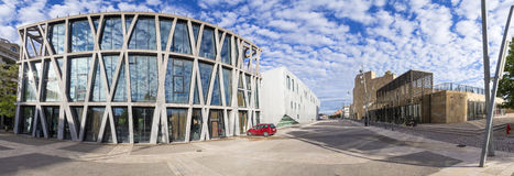 Грандиозный театр de Провансаль и театр черного флага в en Prov AIX Стоковое фото RF