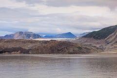 Грандиозный Тихий океан ледник Стоковые Фото